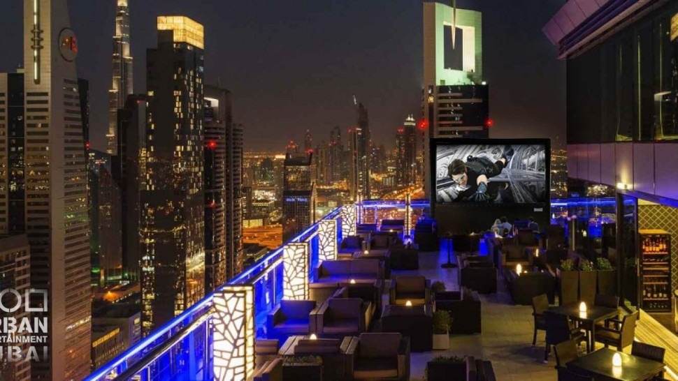 Urban Entertainment Rooftop Cinema
