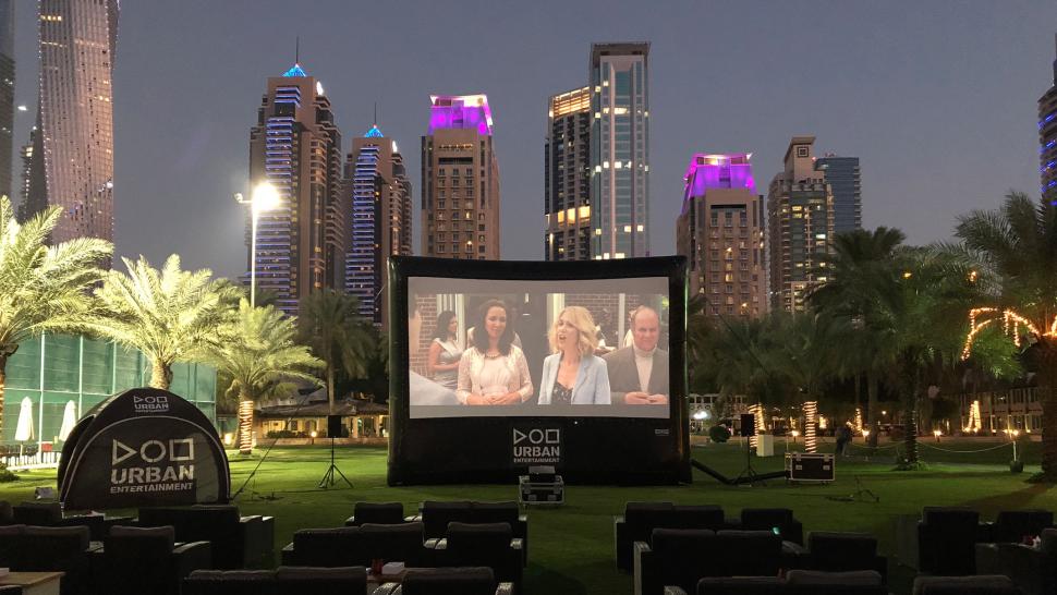 No1 choice for Outdoor Cinema in Dubai- Urban Entertainment