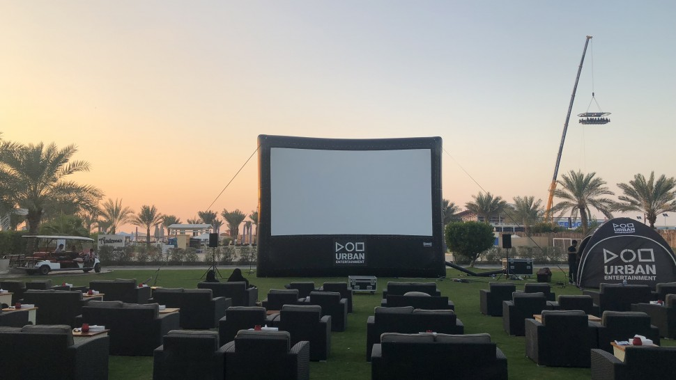Outdoor Cinema Dubai