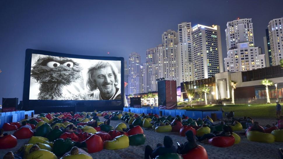 Outdoor Cinema Dubai - Urban Entertainment