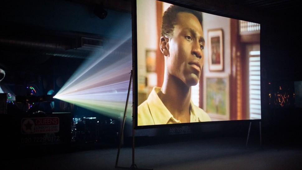 Fast Fold Screen - outdoor cinema