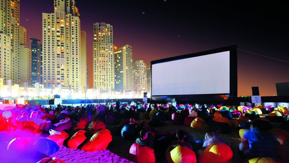 Pop Up Cinema Dubai - Urban Entertainment