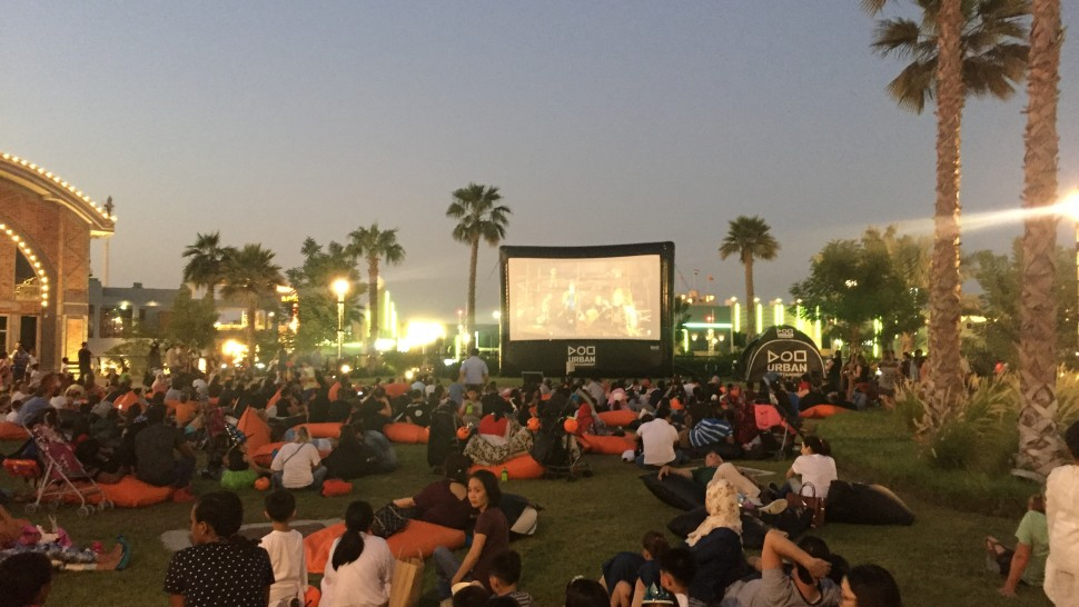 Urban Entertainment present - Outdoor Cinema Dubai Parks and Resorts