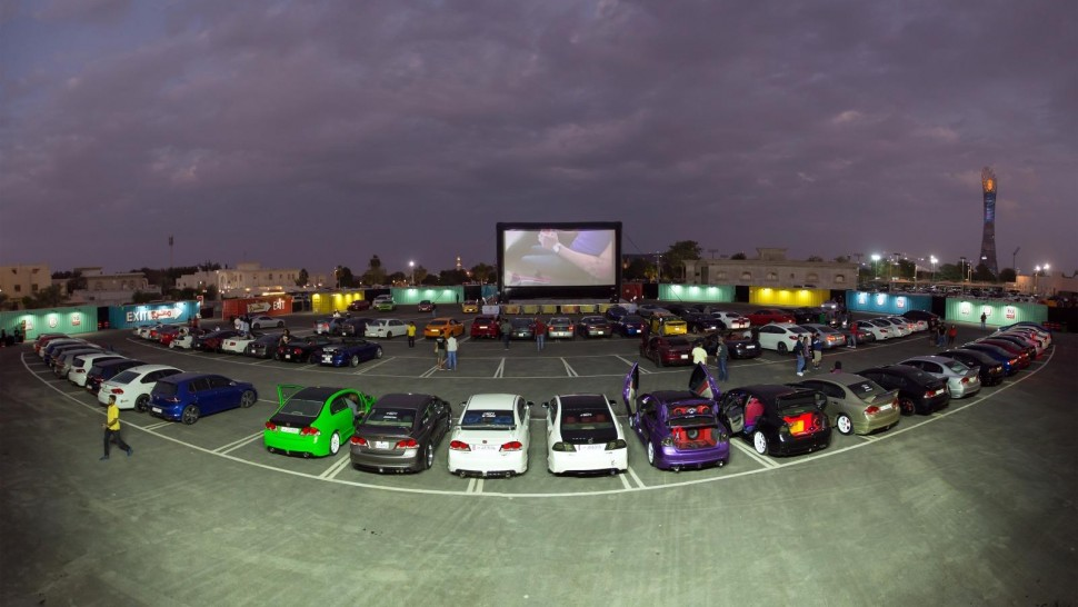 Drive in Cinema Doha Urban Entertainmet