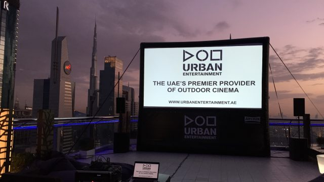 Outdoor Cinema Hire Dubai