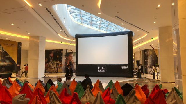 Outdoor Cinema - DIFC Indoor Movie Night - Urban Entertainment