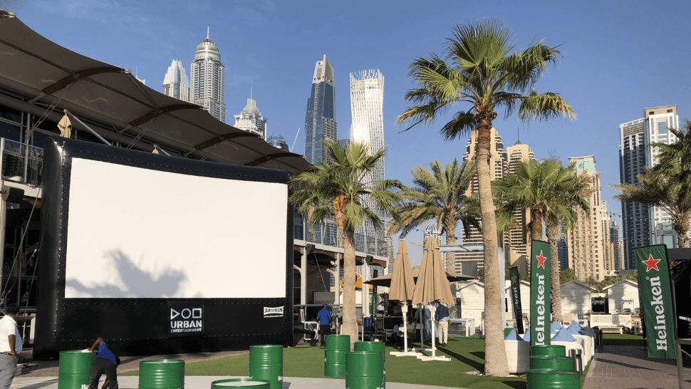 Outdoor Cinema - Champions League Final 2019 - Urban Entertaiment
