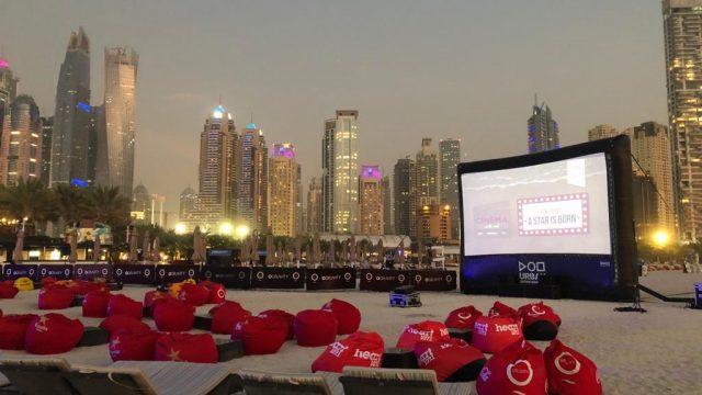 Outdoor Cinema - Zero Gravity - Urban Entertainment